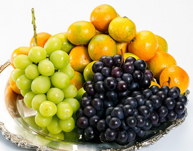 旬のジューシーフルーツ3種と新品種Qナッツセット
