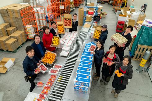 豊洲市場ドットコムの出荷チーム