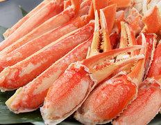 豊洲市場の蟹コーナー