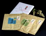江戸前ちば海苔 慈海ギフトセット(青飛び(あおとび)2袋、大寒芽(だいかんめ)1袋)化粧箱