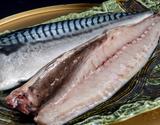 「越田商店 鯖の文化干し干物(ノルウェー鯖使用)」大サイズ(約200g)5枚セット ※冷凍