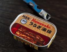 昭和9年創業 浜名湖食品 うなぎ蒲焼缶詰