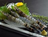 『聖なる海老(ブラックタイガー)』刺し身用 オーストラリア産 1kg(31〜40尾) ※冷凍