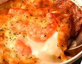 【朝日マリオン】『業務用チーズグラタン&エビグラタン2種セット(計6個)』各3個(1個当たり200g)※冷凍
