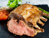 生イベリコ豚ベジョータ『骨つきロース(骨5本分のブロック)』約1kg スペイン産 ※冷蔵