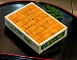 【小川】『エゾバフンウニ』弁当箱(並び)約250g 北海道またはロシア産 ※冷蔵【豊洲市場直送】