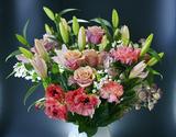 葛西市場よりお届け『季節のお花 エレガントセット』 生花 6種前後 50本以上 ※常温