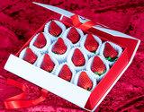 『ミガキイチゴ』宮城県産 プラチナランク 約360g(12粒) 化粧箱入り ※冷蔵