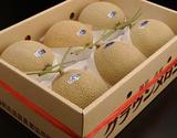 『クラウンメロン』静岡県産 大玉6玉 合計8kg 白等級以上 産地箱