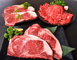 【大特価】北海道産ブランド牛『北海の黒 サーロイン尽くし』計1kg(ステーキ 2枚 計400g、すき焼き 400g、焼肉用薄切りカット 2枚 計200g)※冷凍