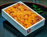 【お値打ち】『バフンウニ バラB品・弁当箱』 北方四島または北海道産 約250g ※冷蔵【豊洲市場直送】