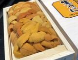 【お買い得】『バフンウニ バラA品・ミニ弁当箱』 ロシア北方四島産 約100g ※冷蔵【豊洲市場直送】