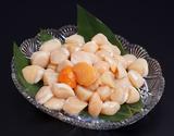 天然『刺身用 赤玉ホタテ貝柱』北海道産 サイズ無選別 約1kg ※冷凍