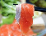 活〆 生みやぎサーモン(銀鮭) 半身 トリムA 約800g 生食用 養殖 ※冷蔵 ウロコ取り済・腹骨あり・皮付き