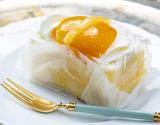 ご当地スイーツ「梅月堂のシースクリームケーキ」(5個入 計570g)※冷凍