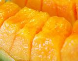 『らいでんメロン(赤肉)』北海道産 1玉(約1.2kg) ※冷蔵 S